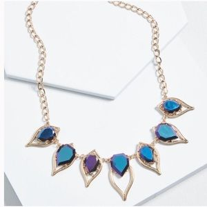 Gemstone statement necklace from Modcloth!